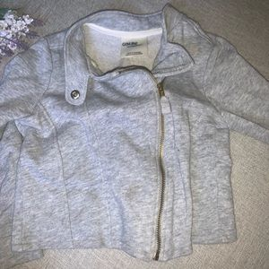 Cotton Moto Zip Jacket
